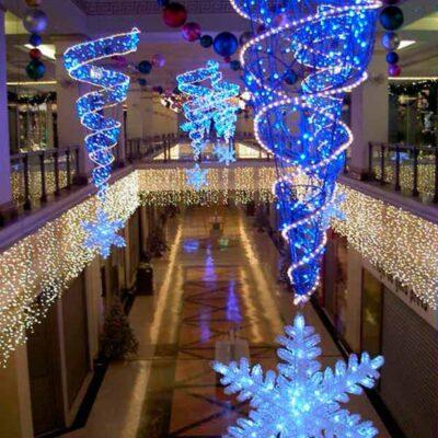 Iluminación centros comerciales