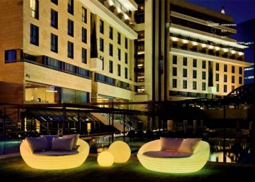 Mobiliario Led para Hoteles